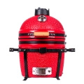 TOPQ Newest Model 15 inch Tabletop Ceramic Kamado Grill