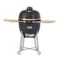 Chip Feeder Ceramic Kamado BBQ Grill